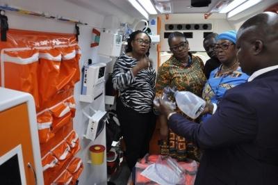 Türk dizaynı 307 ambulans Afrika'da görev yapacak