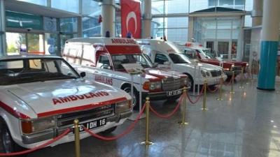 Türkiye'de İlk! Ambulans Müzesi