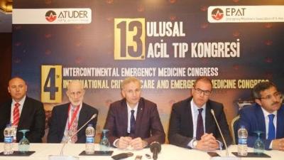 Ulusal Acil Tıp Kongresi Antalya'da yapıldı