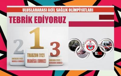 Uluslararası Acil Sağlık Olimpiyatları Yarışma Sonuçları