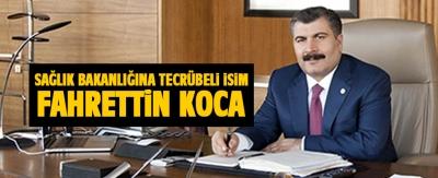 Yeni kabinenin Sağlık Bakanı Fahrettin Koca kimdir?