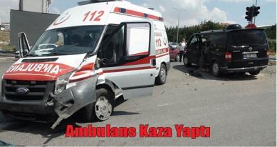 Yozgat 112 Ekibi Kaza Yaptı