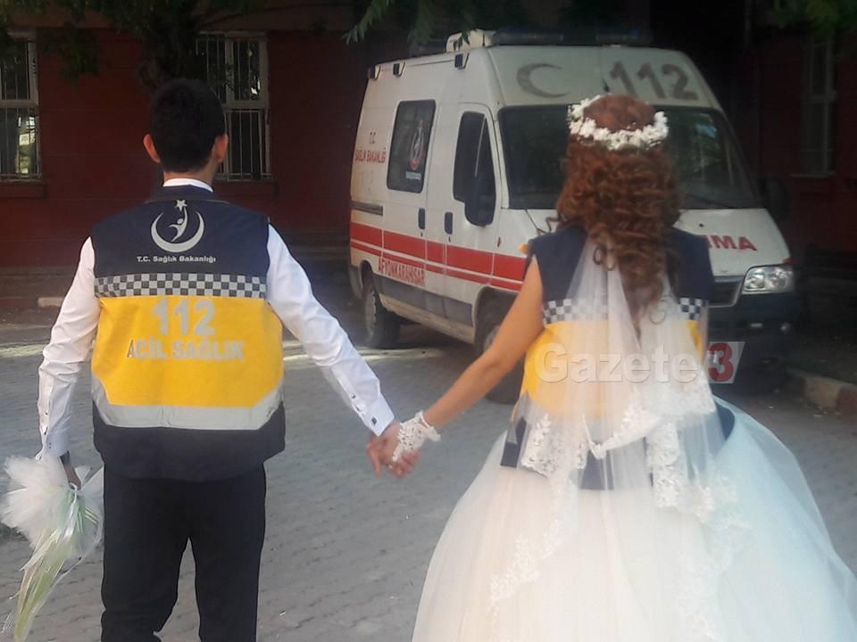 Böyle Olur 112'cilerin Düğünü