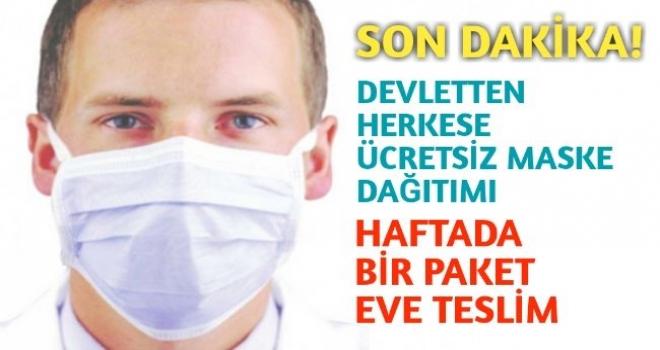 Devletten Herkese Ücretsiz Maske