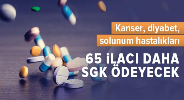 65 ilaç Daha Geri Ödeme Listesine Alındı