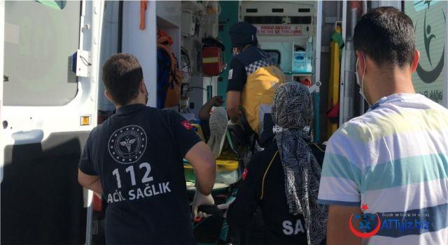 Ehliyetsiz Sürücü 112 Acil Ekiplerine Zorluk Çıkardı