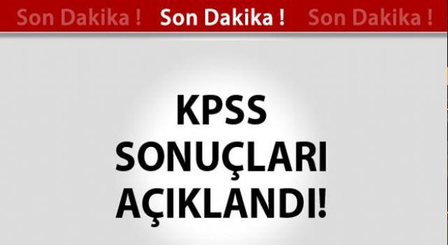 2020 KPSS Ön Lisans Sınav Sonuçları Açıklandı