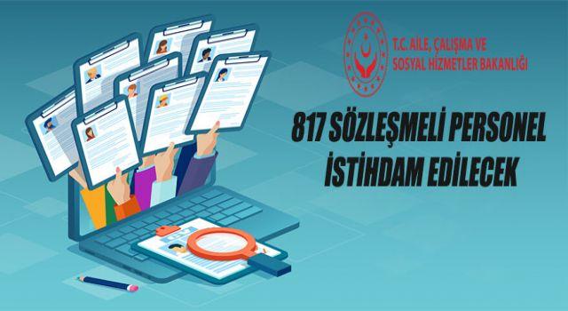 Aile Çalışma ve Sosyal Hizmetler Bakanlığı'na Hemşire,Paramedik ve Diğer Sağlık Personeli Alımı Yapılacak