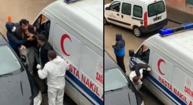Darp Edilen Ambulans Şoförü: Tehdit Telefonları Alıyorum