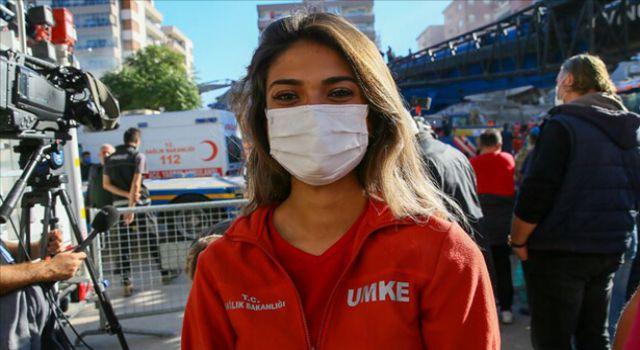 UMKE Personeli Paramedik Edanur Türkiye'nin Gönlüne Taht Kurdu