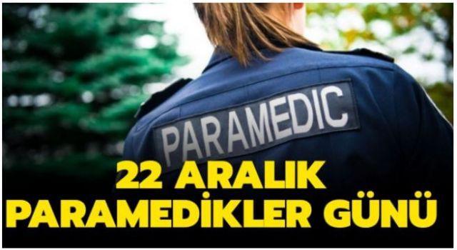 22 Aralık Paramedikler Günü Resimli Kutlama Mesajları