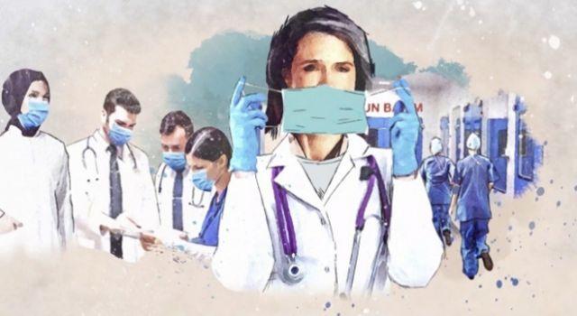 Türkiye'de Her 10 COVID-19 Hastasından 1'i Sağlık Çalışanı