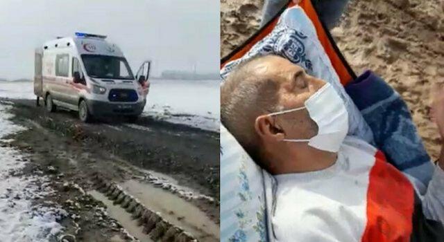 Hakkınız Ödenmez: Ambulans Çamura Saplanınca Hastayı 4 Kilometre Sedyeyle Taşıdılar