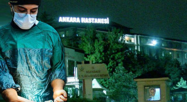 Ankara'da Doktora Bıçaklı Saldırı