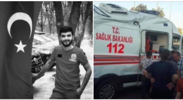 Ambulans Kaza Yaptı, Görev Şehidimiz Var
