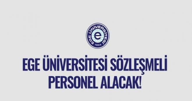 Ege Üniversitesi 191 Hemşire ve 30 Sağlık Teknikeri Alımı İlanı