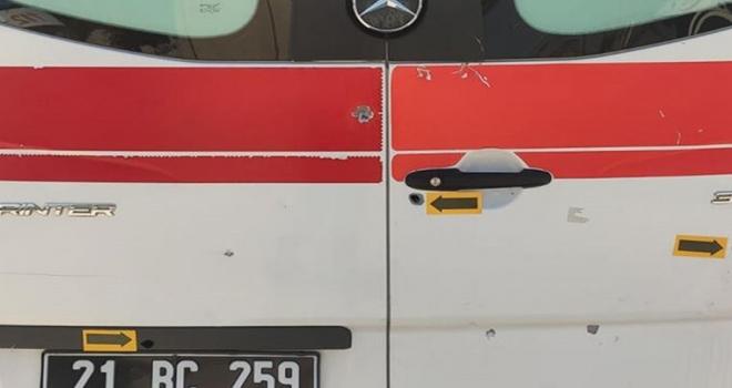 Doğum Vakasına Giden Ambulansa Silahlı Saldırı