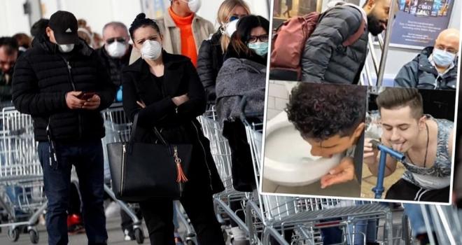Koronavirüs İle Boğuşan Batı'da İğrenç Akım