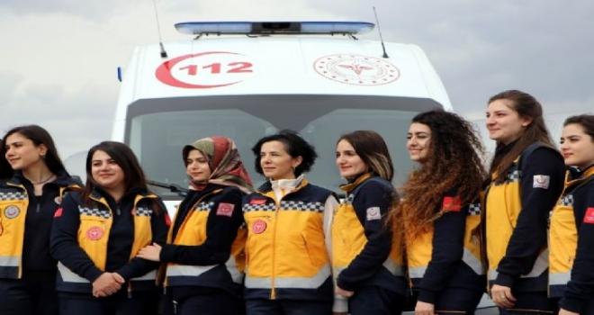 Kadın Acil Sağlık Personeline Ambulans Sürüş Eğitimi (ASTE)