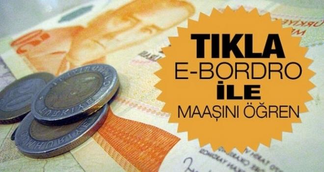 Mayıs Ayı Maaş Bordrosu ve Tavan Ek Ödeme Tutarları