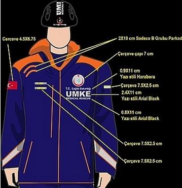 UMKE Kıyafet Standartları Yayınlandı