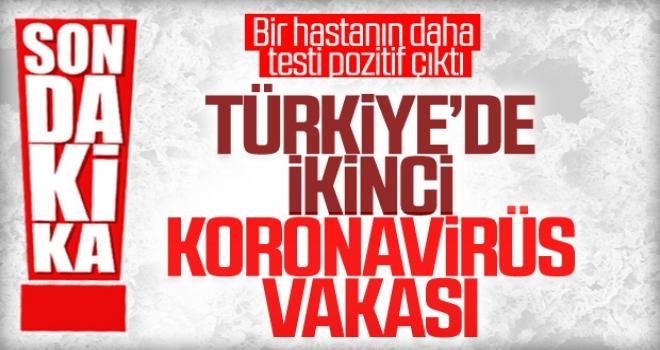 Türkiye'de İkinci Koronavirüs Vakası