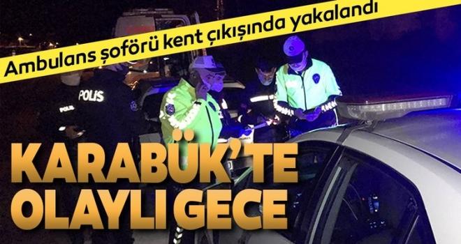 """""""Dur"""" İhtarına Uymayan Ambulans Sürücüsü Yakalandı"""