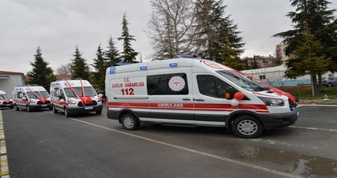 112 Acile 1.000 Yeni Ambulans Takviyesi