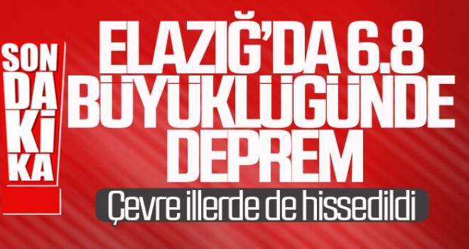 Elazığ'da Şiddetli Deprem! 112 ve UMKE Ekipleri Bölgeye Sevk Edildi.