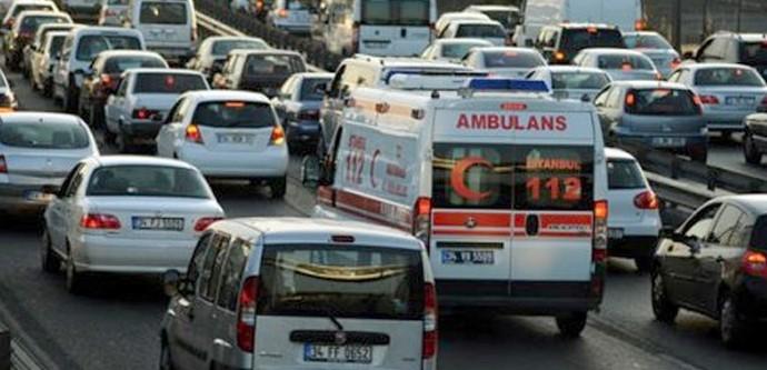 Bakanlıktan Ambulans Kazalarının Önlenmesi İçin Yazı