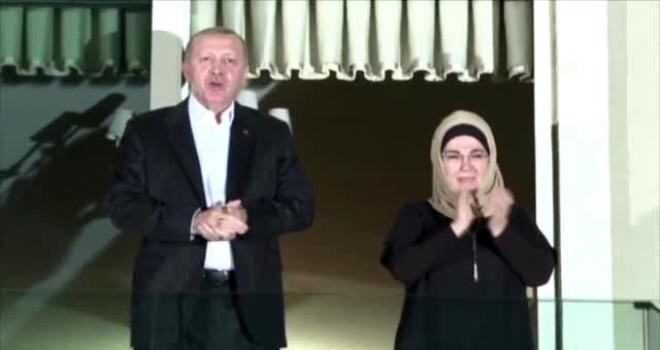 Cumhurbaşkanı Erdoğan ve Eşinden Sağlık Çalışanlarına Destek
