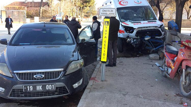 Çorum Ambulans Kazası