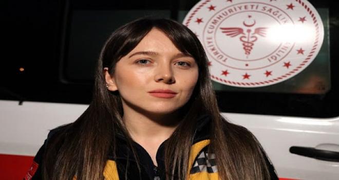 Günün Kahramanı Acil Tıp Teknisyeni Büşra