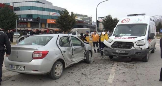 Tokat 112 Ambulans Kazası