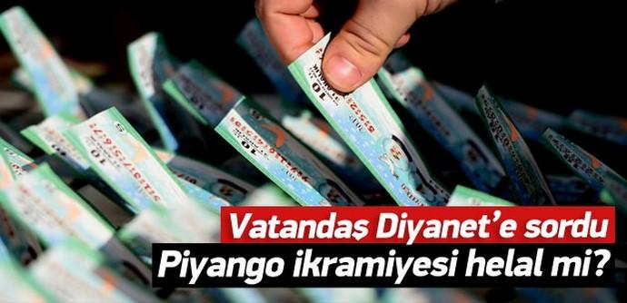Diyanet'e 'Piyango ikramiyesi haram mı?' sorusu