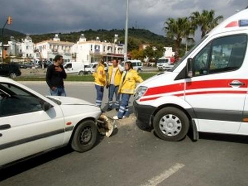 Bodrum 112 Ambulans Kazası