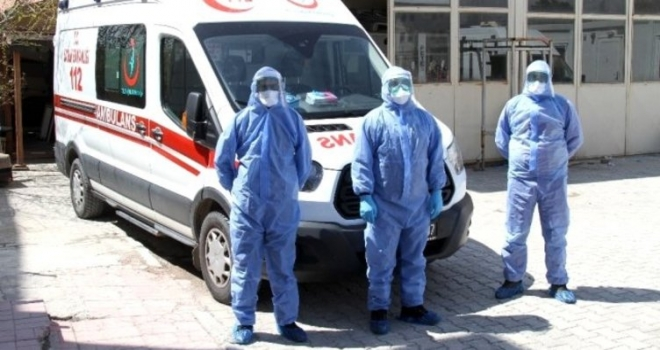 Koronavirüs Vakalarıyla İlk Karşılaşan Kahramanlar, 112 Acil Ekipleri