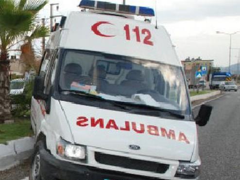 Trafik Kazasına Giden Ambulans Kaza Yapt?