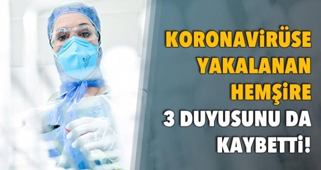 Koronavirüse Yakalanan Hemşire, Görme, Tat Alma ve Koku Alma Duyularını Kaybetti
