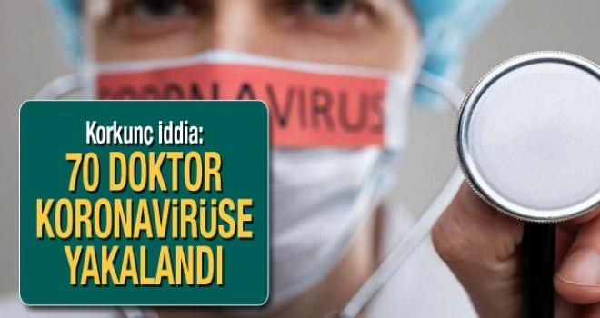 70 Doktor Virüse Yakalandı,4 Doktor Entübe