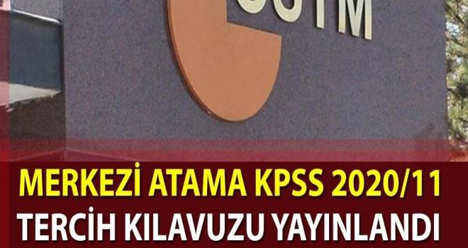 KPSS 2020/11 Sağlık Bakanlığı Tercih Kılavuzu Yayımlandı!