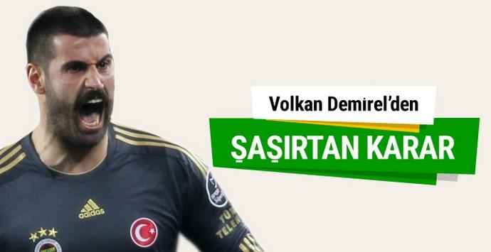 Fenerbahçe'da Volkan Demirel depremi
