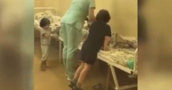 Hastanede Hemşirenin Skandal Görüntüleri