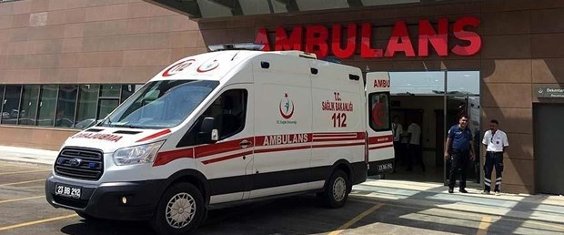 İhbara giden ambulansın şoförüne dayak