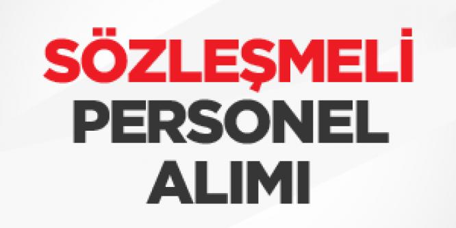 Cumhuriyet Üniversitesi Sözleşmeli Personel Alım İlanı