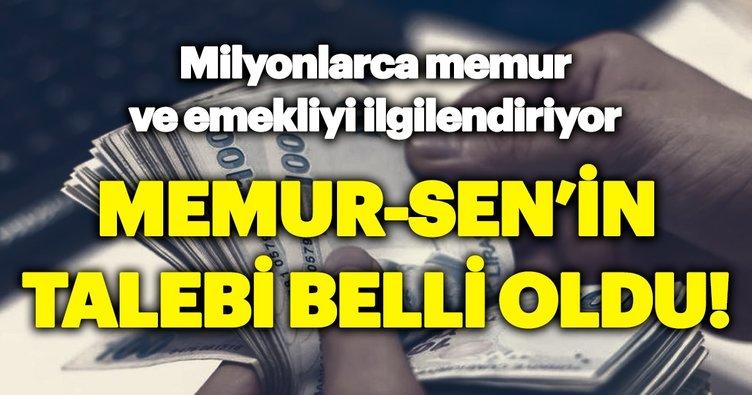 Memur-Sen'in Zam Talebi Belli Oldu!