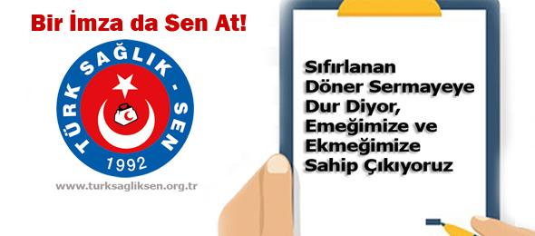 TSS'den Dilekçe Kampanyası