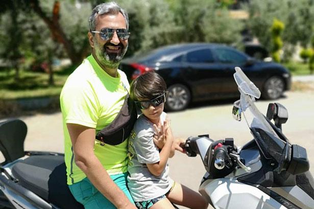 Uzman doktor, motosiklet kazasında ağır yaralandı