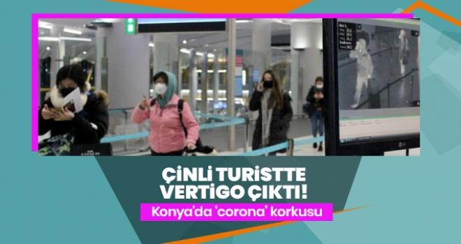 Konya'da Coronavirüs Şüphesiyle Hastaneye Başvuran Çinli Turistte Vertigo Çıktı!