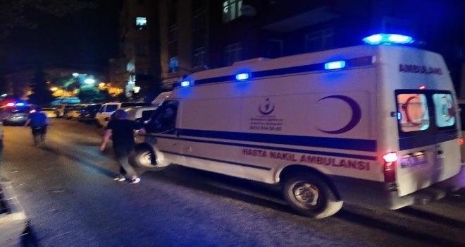 İstanbul'da Ambulans Çalındı